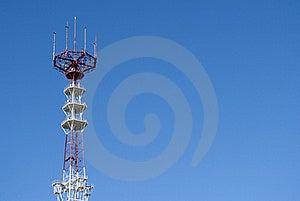 Telecommunication Tower Stock Images - Image: 16440684