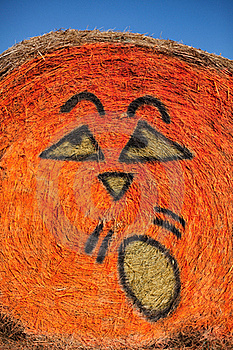 Pumpkin Face Royalty Free Stock Image - Image: 16441376