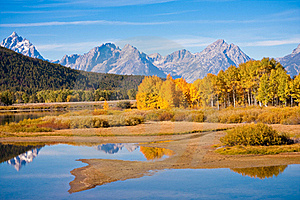 Grand Teton Stock Photo - Image: 16443090