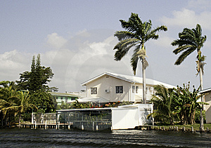 Life Of Luxury On The Belize River Stock Photo - Image: 16447740