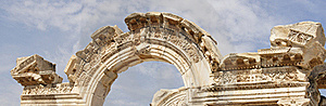 Historical Areal Of Ephesus Royalty Free Stock Photo - Image: 16453195