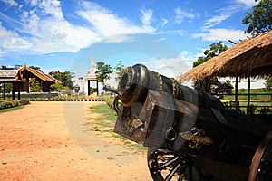 Locations Film Legend Of King Naresuan Royalty Free Stock Photography - Image: 16454507