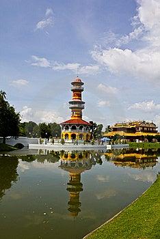 Bang Pa-in Palace Ayutthaya Thailand Royalty Free Stock Image - Image: 16454546