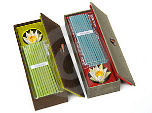 Incense Gift Set Royalty Free Stock Photos - Image: 16455528