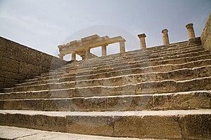 Lindos Acropolis Greece Stock Image - Image: 16458591