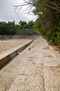 Ancient Greek Acropolis Sports Stadium Royalty Free Stock Images - Image: 16458689