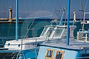 Greek Boats Royalty Free Stock Photos - Image: 16458738