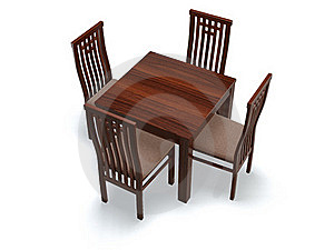 Chairs And Table Stock Photos - Image: 16460273