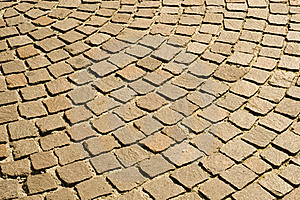Cobblestones Pavement Royalty Free Stock Images - Image: 16460319
