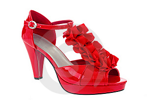 Red Heel Royalty Free Stock Images - Image: 16462799