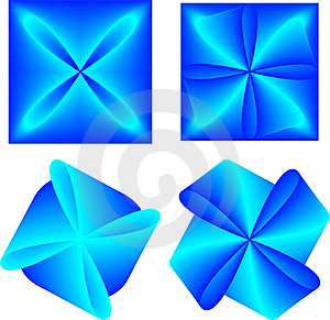 Beautiful Blue Abstraction Royalty Free Stock Image - Image: 16464376