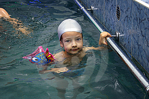 Swimming Lesson Stock Images - Image: 16465354