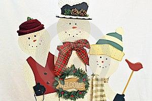 Snowmen Stock Photography - Image: 16470522