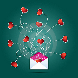 Love Mail Royalty Free Stock Image - Image: 16477876