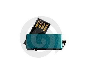 Mini USB Drive Stock Image - Image: 16479331