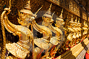 Golden Garuda At Royal Palace, Bangkok,T Stock Image - Image: 16479731
