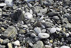 Stones Grey Tones Royalty Free Stock Photo