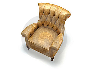 Yellow Chair Stock Images - Image: 16480724