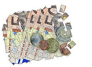 Euro Collage Stock Photo - Image: 16481000