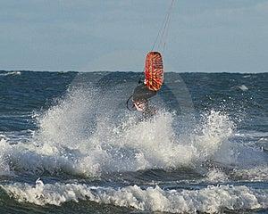 Kitesurfer Royalty Free Stock Photo - Image: 16482335