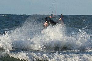 Kitesurfer Stock Images - Image: 16482354