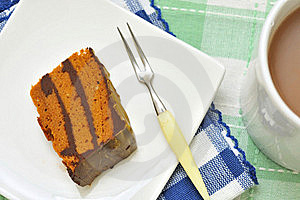 Delicious Layered Cake Stock Image - Image: 16482461