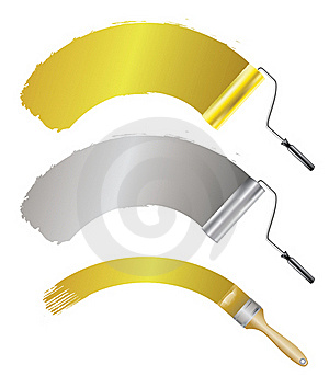 Paint Accessories Stock Image - Image: 16482541