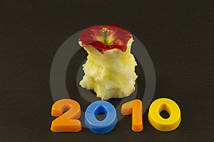 Annual Value Eaten Away Stock Image - Image: 16483221