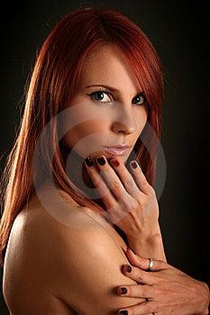 Femininity Imagem de Stock Royalty Free - Imagem: 16484066