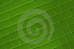 Green Tiles 2 Stock Photo - Image: 16486040