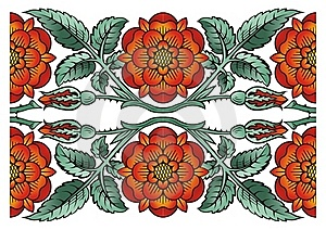 Flower Decoration Design Element Stock Photos - Image: 16487403