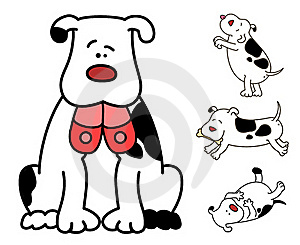 Cartoon Dog. Stock Photos - Image: 16494593