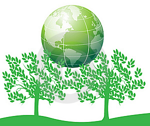 Tree Save The World Royalty Free Stock Photos - Image: 16494848