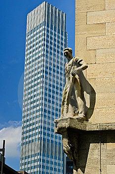 CBD Skyscraper Royalty Free Stock Photography - Image: 16494927