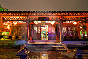 Chinese-style Architecture Stock Photos - Image: 16495953