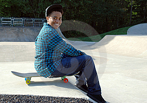 Skater 5 Royalty Free Stock Photos - Image: 16499738