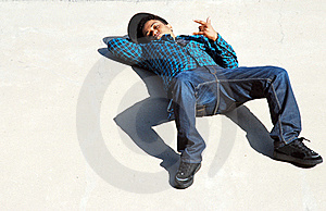 Laid Back Skater 2 Stock Photography - Image: 16499752