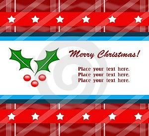 Weihnachtsgrußkarte Stockfoto - Bild: 16499990