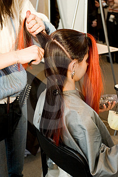 Woman Coiffure. Stock Photos - Image: 1658063