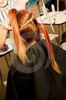 Woman Coiffure Stock Image - Image: 1658071