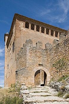 Alquezar, Huesca, Spain Stock Image - Image: 1659421