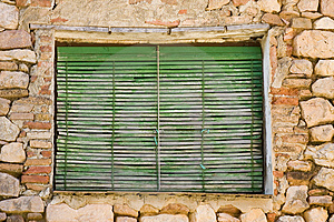 Aged Window Royalty Free Stock Photos - Image: 1659448