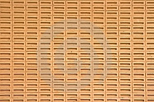 Orange Brick Wall Stock Photo - Image: 16502390