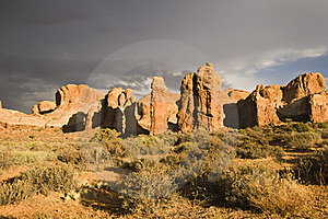 Arches National Park Royalty Free Stock Images - Image: 16505679
