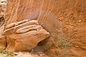 Sandstein-Detail Lizenzfreie Stockfotografie - Bild: 16505687