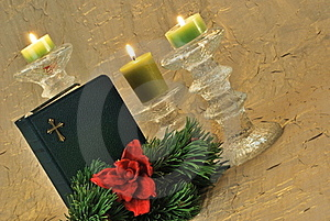 Christmas Background/greeting Card Stock Images - Image: 16506114