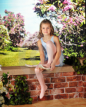 Preparing To Dance Stock Photography - Image: 16508502