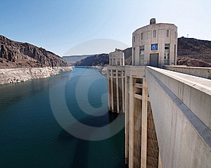 Hoover Dam Turrets Royalty Free Stock Photos - Image: 16511178