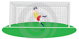 Goalkeeper Royalty Free Stock Photos - Image: 16517298