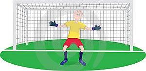 Goalkeeper Stock Photography - Image: 16517302